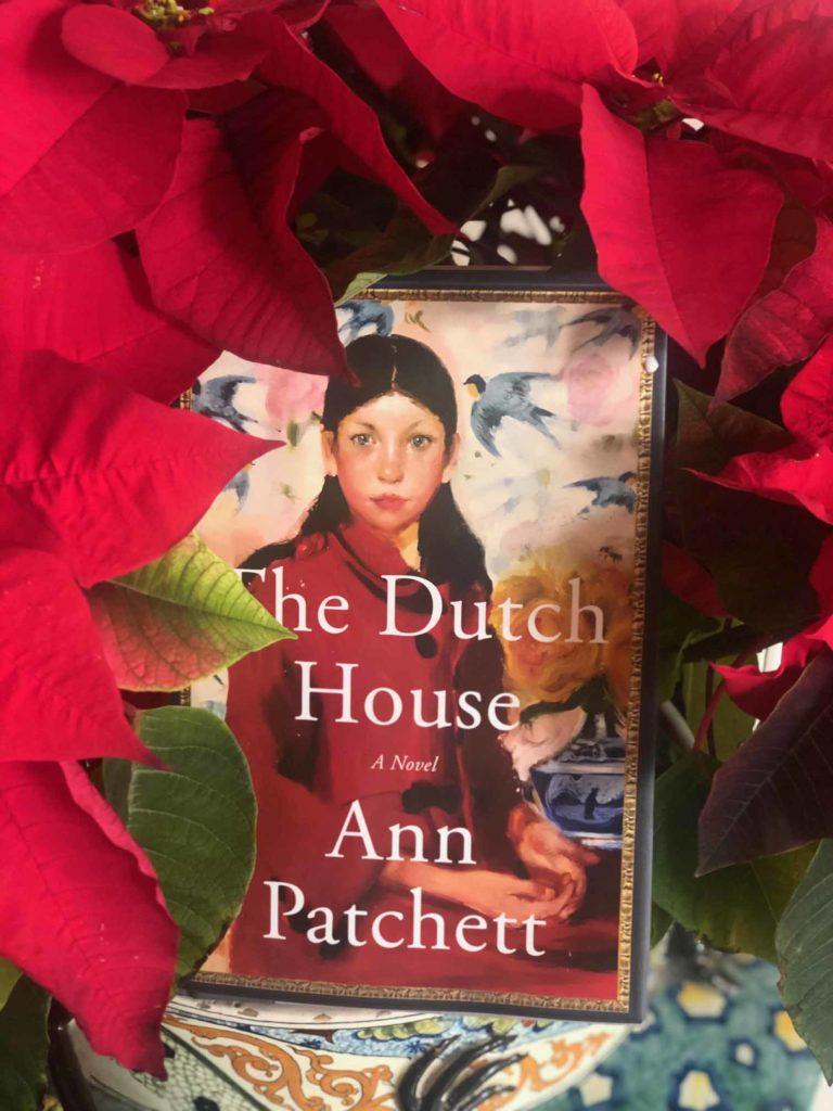 Sharon Virts Book Club - The Dutch House-poinsettia2